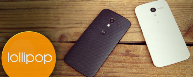 Android 5.1 Lollipop für die Motorola Moto Familie