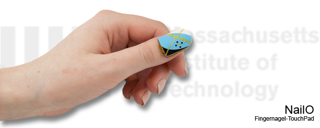 NailO Fingernagel-Touchpad