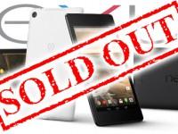 Nexus 7 ist im Google Play Store nicht mehr zu bestellen