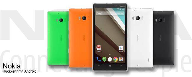 Nokia-Rückkehr mit Android