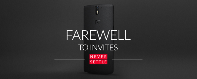 OnePlus One nu rnoch ohne Invites