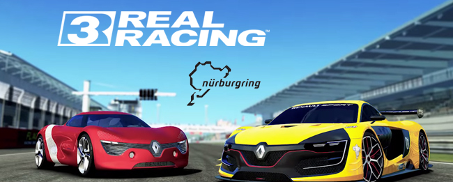 Real Racing 3 mit Nürburgring und Renault
