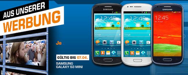 Samsung Galaxy S3 mini Schnäppchenangebot