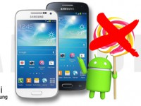 Samsung Galaxy S4 Mini bekommt kein Android 5.0 Lollipop