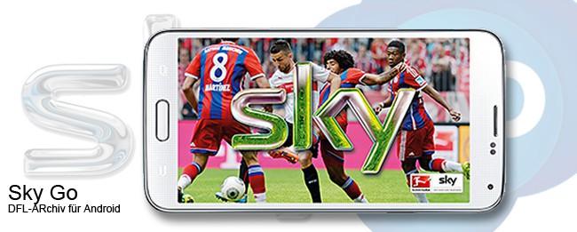 Sky Go Android und das DFL Video-ARchiv