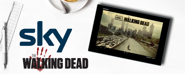 The Walking Dead bei Sky Go Android