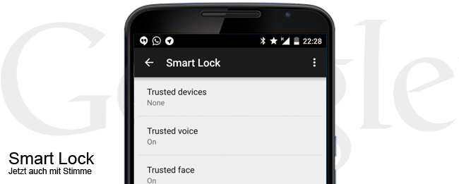 Smart Lock mit OK Google