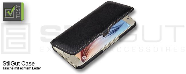 Stilgut Leder Case für das Samsung Galaxy S6