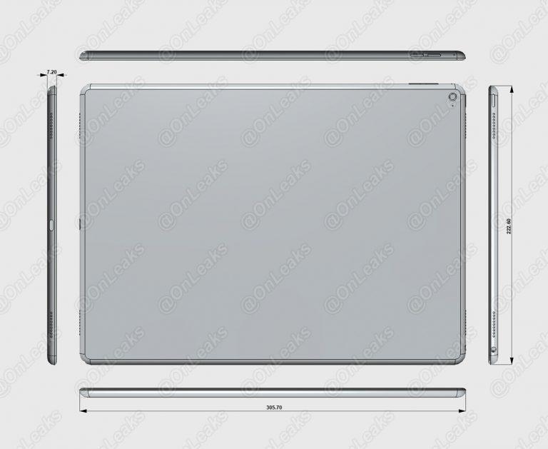 iPad Pro Abmessungen
