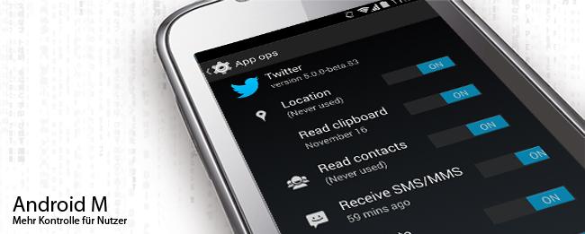 Android M und App-Berechtigungen
