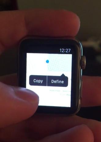 Apple Watch Browser