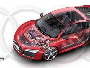 [CES Asia] Audi R8 e-tron piloted driving als Feldstudie