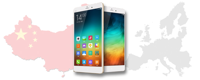Android Smartphones aus China