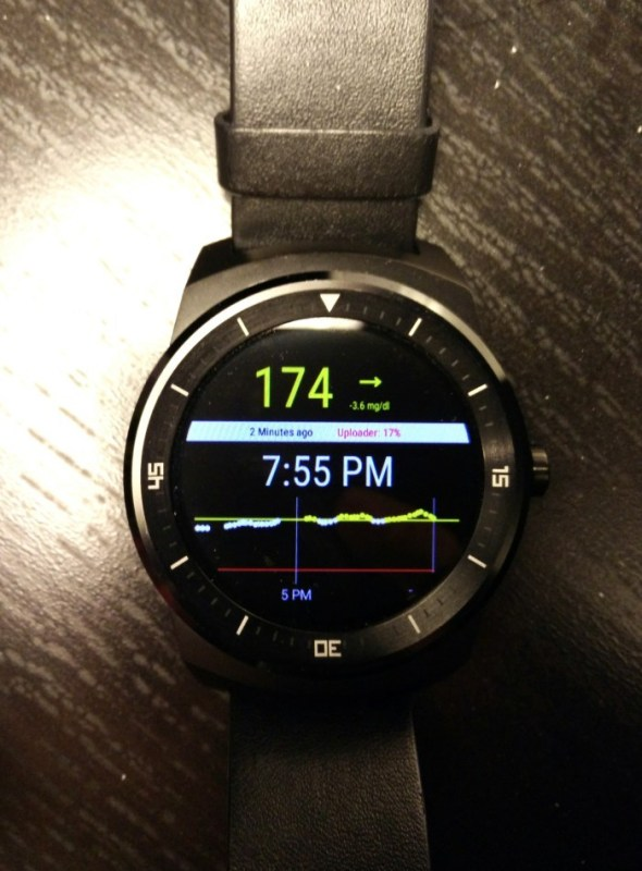 Android Wear für Diabetes-Patienten
