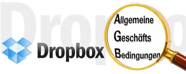 Dropbox AGB