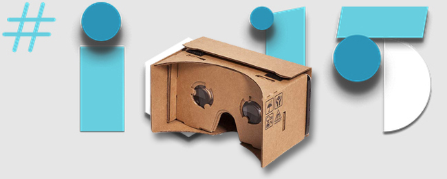 Google VR Headset zur Google I/O 2015