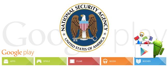 NSA-Ziel Google Play Store