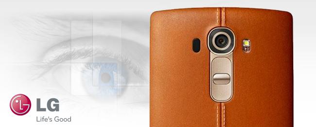 LG G5 mit Iris-Scanner Teaser