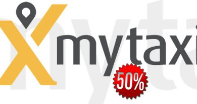 MyTaxi Rabattaktion