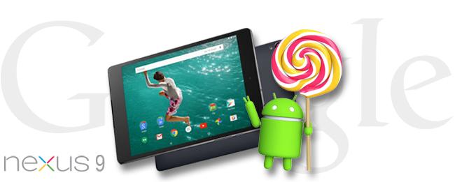Nexus 9 Update