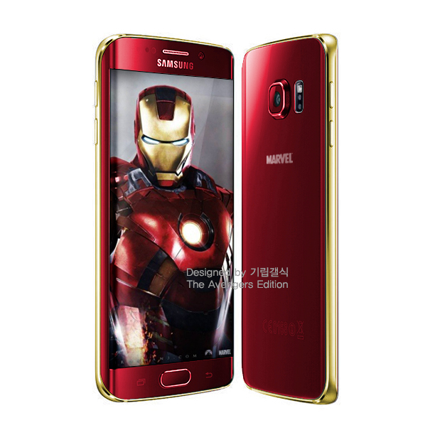 Samsung Galaxy S6 (edge) Iron Man Edition