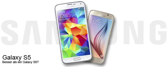 Samsung Galaxy S5 vs. Samsung Galaxy S6