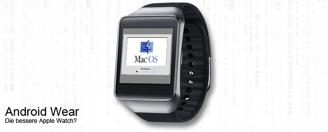 Apple Mac OS 6 auf Android Wear