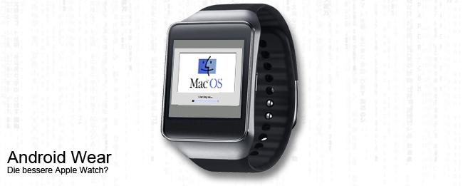 Apple Mac OS 6 auf Android Wear