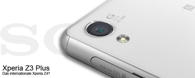 Sony Xperia Z3 Plus Teaser