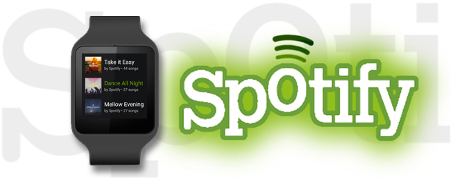 Spotify für Android Wear