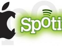 Spotify im Fadenkreuz von Apple: Kostenloses Streaming bald Geschichte?