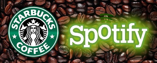 Starbucks und Spotify Kooperation