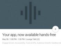 [Google I/O 2015] Voice Access: App-Steuerung nur über die Stimme?