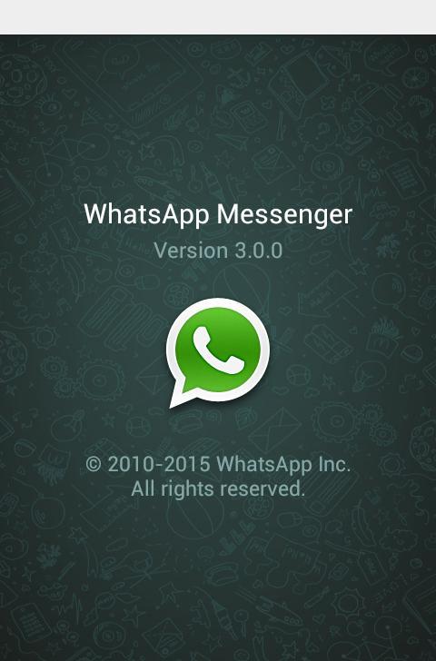 WhatsApp Update 3.0