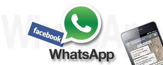 Facebook-Pläne für WhatsApp