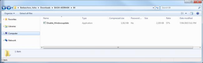 disable_windowsupdate