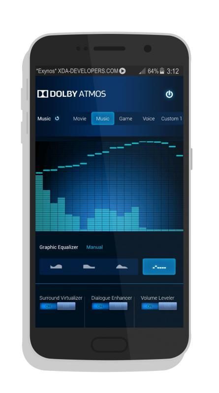 Dolby Atmos für das Samsung Galaxy S4