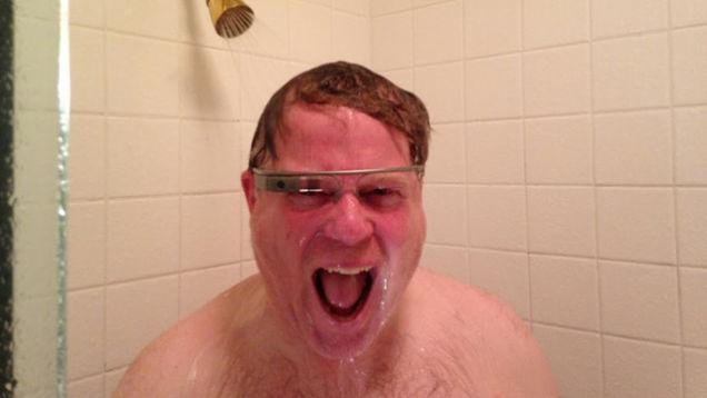 <b>Robert Scoble</b> mit seiner Google Glass - google_glass_150601_5_1
