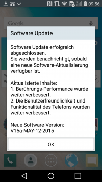 Android 5.1.1 Update für das G Flex 2 | (c) Areamobile