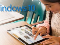 Windows 10 Tablet von Samsung mit 12 Zoll Display in Arbeit