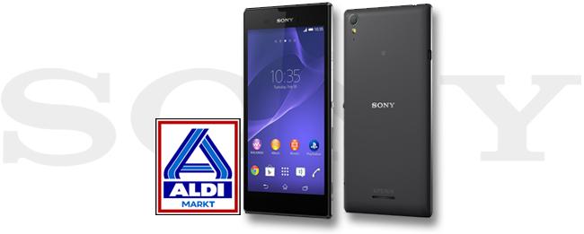Sony Xperia style bei ALDI Nord