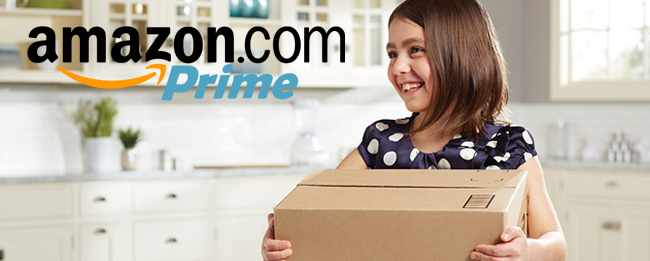 Amazon Prime Paketlieferdienst gegen die Deutsche Post