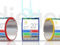 Blu: Das erste flexible Smartphone am Handgelenk