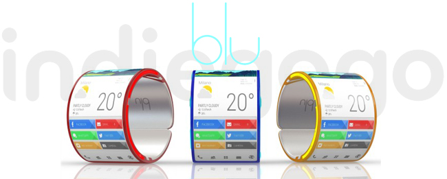 Blu Wearable Smartphone
