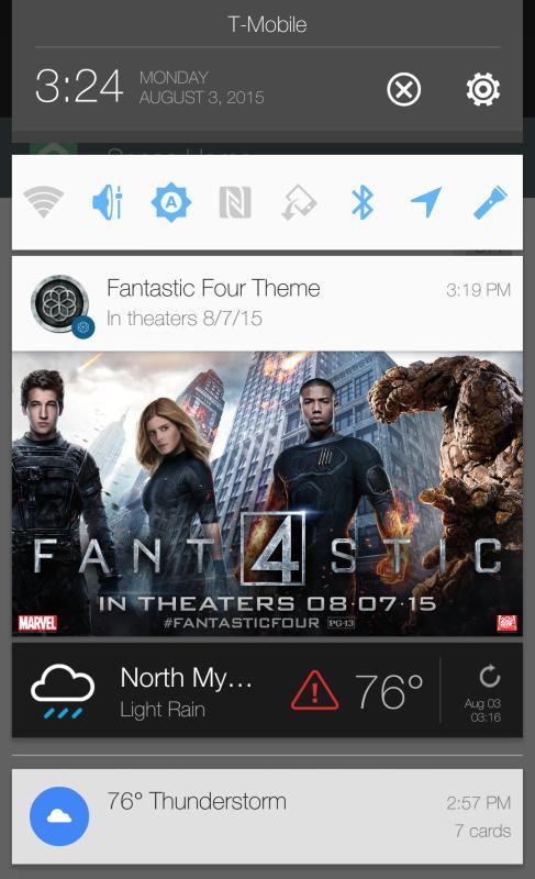 Werbe-Banner von HTC Sense 7