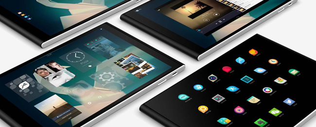 Jolla Tablet mit Sailfsh OS