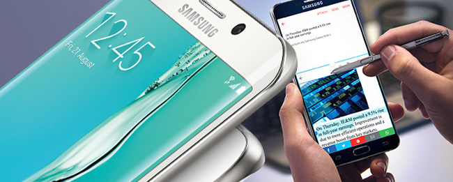 Samsung Galaxy Note 5 mit S-Pen