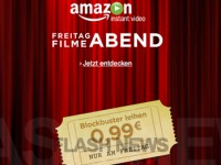 [FLASH NEWS] Gruselabend mit Amazon für 99 Cent pro Blockbuster