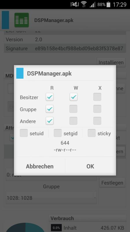 OmniROM DSP Manager