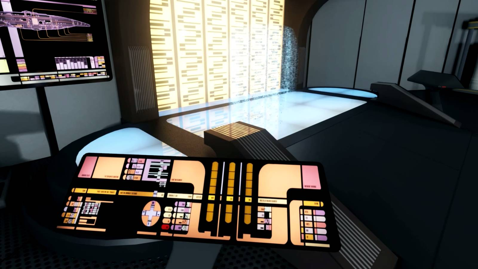 enterprise 3d project das star trek raumschiff in vr erkunden. Black Bedroom Furniture Sets. Home Design Ideas